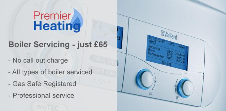 Boiler Servicing - just £65